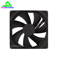 High speed axial fan high rpm dc 12v 12025 120mm cooling fan