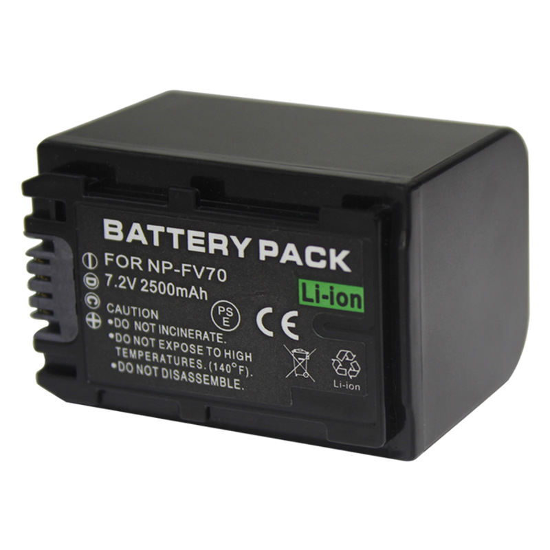 Replacement Battery for Sony HDR-TD20E HDR-TD20V HDR-TD20VE camera 3300mAh