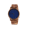 men zebrawood with blue face