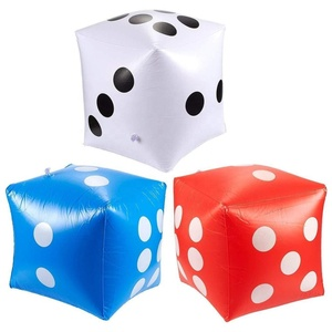 Custom Advertising Funny Outdoor Party Games Inflatable Yard Polyhedral Dice