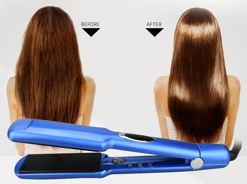professional hair straightener far infrared flat iron LOOF S168