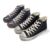 Retro Canvas Shoes Men's High Top, Fashion old school and High Quality