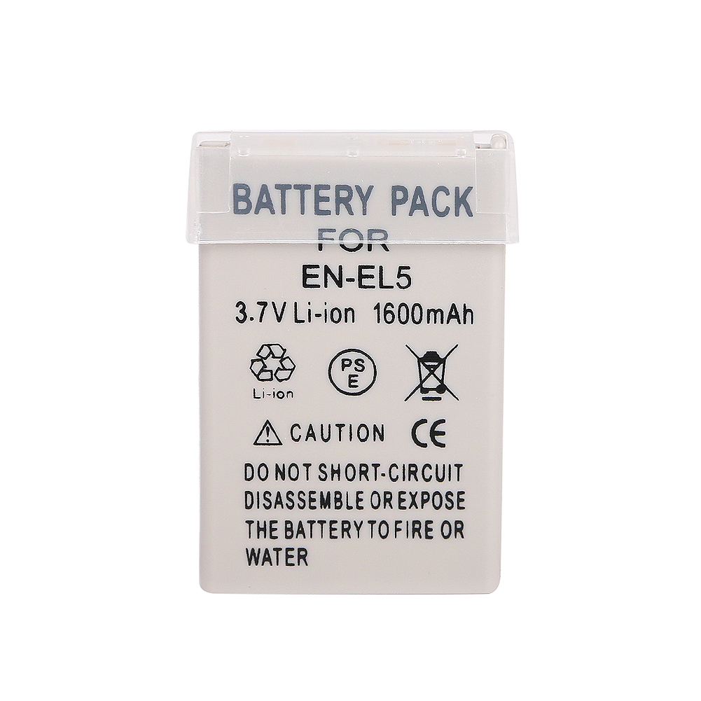 3.7V 1100 mAh Battery Pack for Nikon EN-EL5 ENEL5 Coolpix P500 P100 7900 NEW
