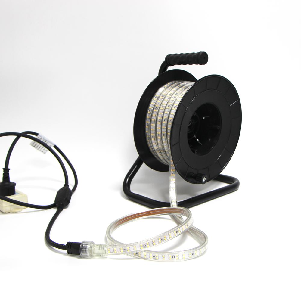 CE 220V/230V Recyclable LED 2835-180p Strip Light, Fita LED for Short Term Lighting 15m Kit
