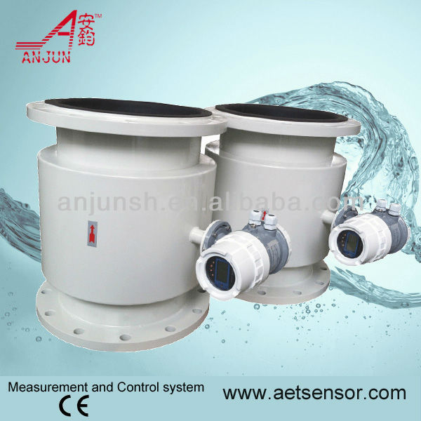 Water electromagnetic flowmeter with 24v power supply