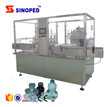 High hot Vial Oral Liquid Filling production line