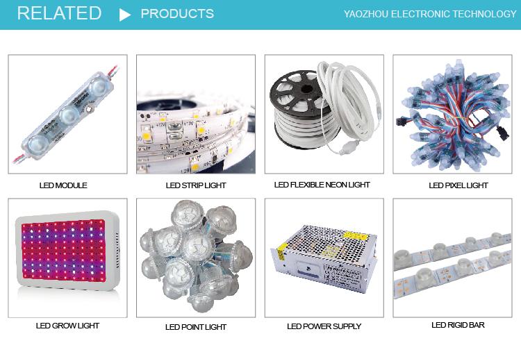 High Brightness 12V 1.5W  Single Color Super Ultrasonic Injection SMD 5730 Korean Samsun LED Module