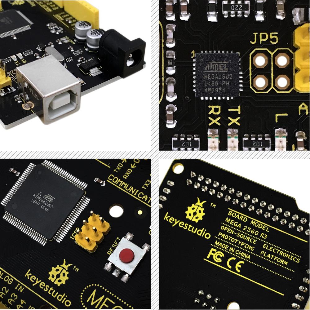 ATmega 2560 R3 development board for Arduino