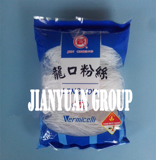 Delicious Healthy Food Chinese Longkou Green Mung Bean Vermicelli Noodle Wholesale Made In China