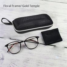 Прозрачные оправы для очков для мужчин и женщин, прозрачные линзы, ретро очки, корейская мода, оптические очки TR90, Кристальные, красные, серы...(Китай)