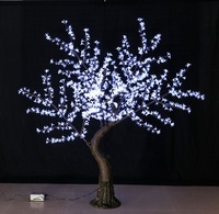 Christmas decoration outdoor light trees