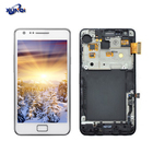 LCD S II GT-I9100 with frame For samsung galaxy s2 lcd display Mobile phone touch screen Component