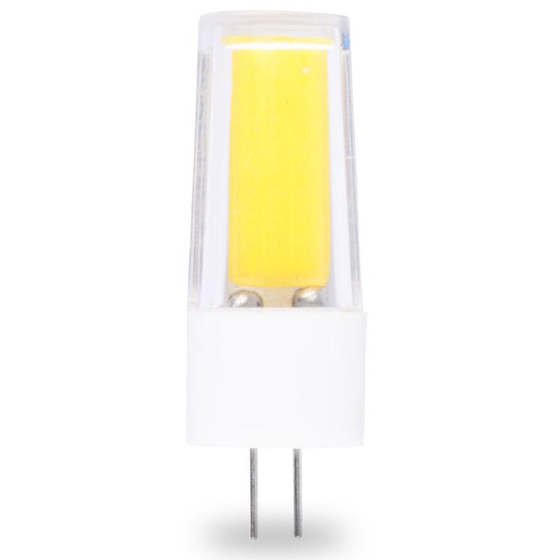 2609Cob Led מנורות 220V LED G4 הנורה 3W COB G4 LED מנורת קרמיקה 360 מעלות להחליף הלוגן עבור נברשת מנורת LED נורות