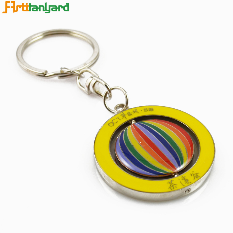 Custom keychain factory supply make your own logo metal key chain