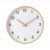 Dark Paint Nature Wood frame  Quartz Home Decoration Wood frame Wall Clock
