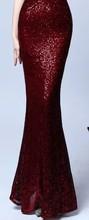 Женское платье-Русалка It's YiiYa, вечерние платья для выпускного вечера с блестками и v-образным вырезом, вечернее платье на молнии, es 2020 K117(China)