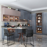 Guangzhou Modern Fashion Modular Modern Kitchen Designs For Cabinet
