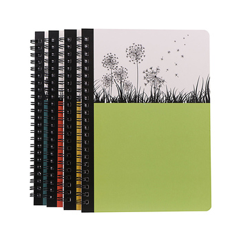 Customize Promotional Hard Cover Spiral Notebook  School Notebook