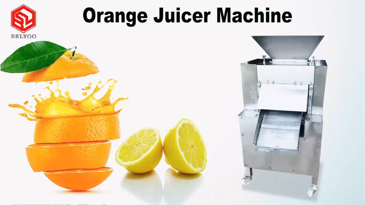 חשמלי תעשייתי אשכולית לימון מסחטת עיבוד להכנת פירות מסחטה חולץ כתום מיץ מכונה