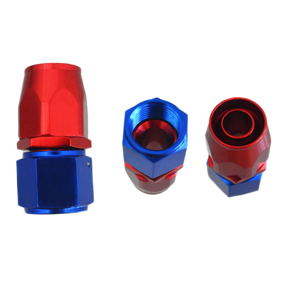 AN10 Swivel Alloy adapter  fuel disconnect swivel hose end fitting for Braided Oil Fuel Gas Hose Line