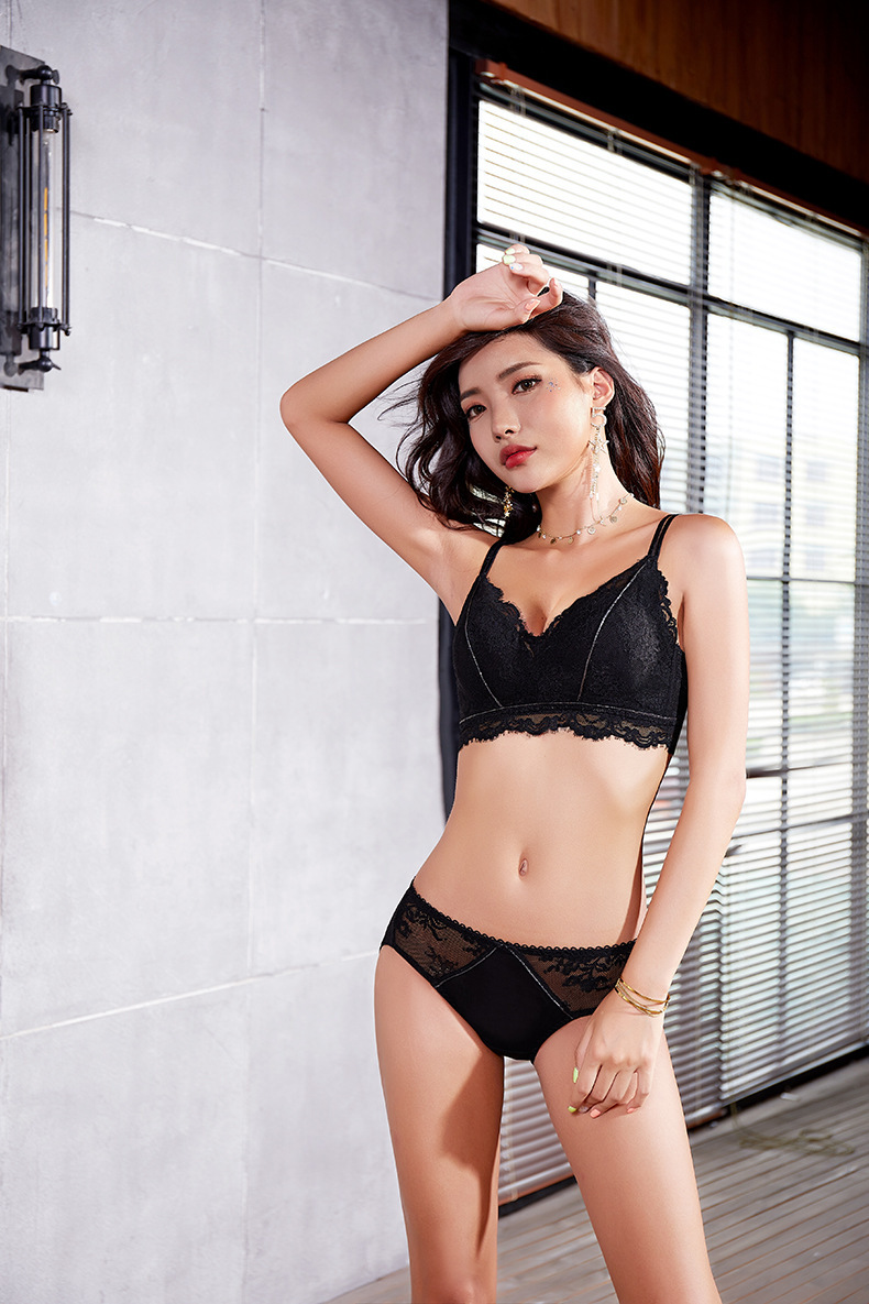 Newest ladies sexy net bra sets sexy pants stylish hot bra and panty set