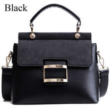 Женская сумка, винтажные сумки через плечо, 2020, с пряжкой, из искусственной кожи, сумки через плечо для женщин, брендовая зимняя сумка для жен...(Китай)