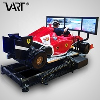2019 Factory price dynamic vr chair F1 car simulator 9d vr racing game machine virtual reality 9d