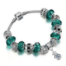 Todorova 31 стиль муранские стеклянные бусины очаровательные браслеты для женщин Девушка со змеиным цепочкой брендовые браслеты и браслеты юве...(Китай)