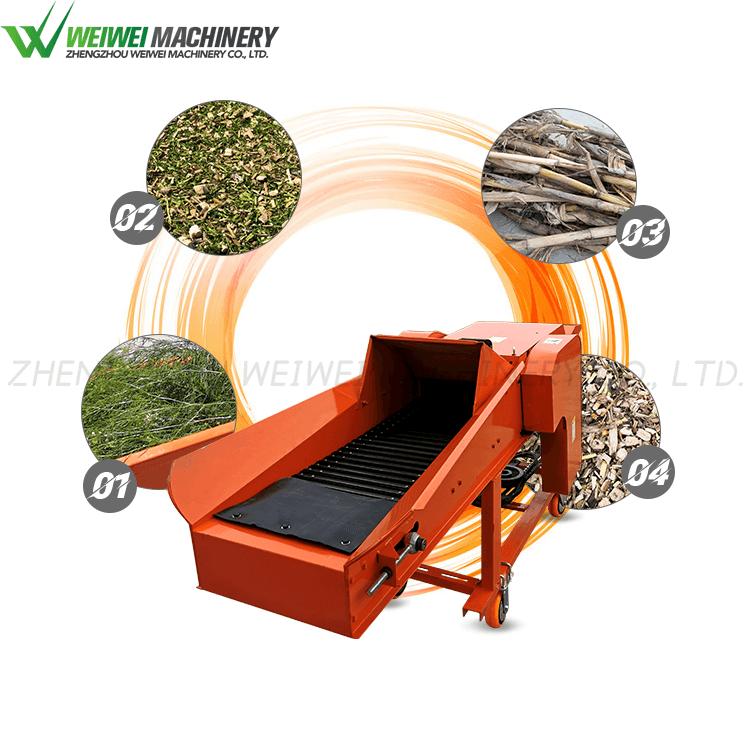 Weiwei multipurpose feed crusher napier grass silage