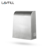 Toilet Use 304 Stainless Steel Hot Air Powerful Rechargeable Hand Dryer