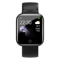 Smart Watch W34 Heart Rate Monitor Fitness Tracker Blood Pressure Smartwatch W4 i5 W34 Smart watch for Apple iOS Android Phone