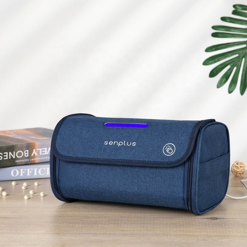 Fast Delivery 2020 Handbag Portable Traveling Sterilising Bag UV light sanitizer Bag Germicidal UVC Bag