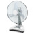 CR-8807A rechargeable solar fan 16 inch ventilation fan with remote