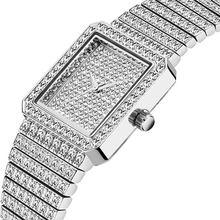 MISSFOX алмазные часы для женщин люксовый бренд женские Золотые Квадратные наручные часы минималистичные аналоговые кварцевые Movt уникальные ...(China)