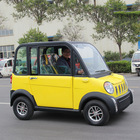 Small 4 wheel best price china small cars low speed electric vehicle With Air Condition Electric car