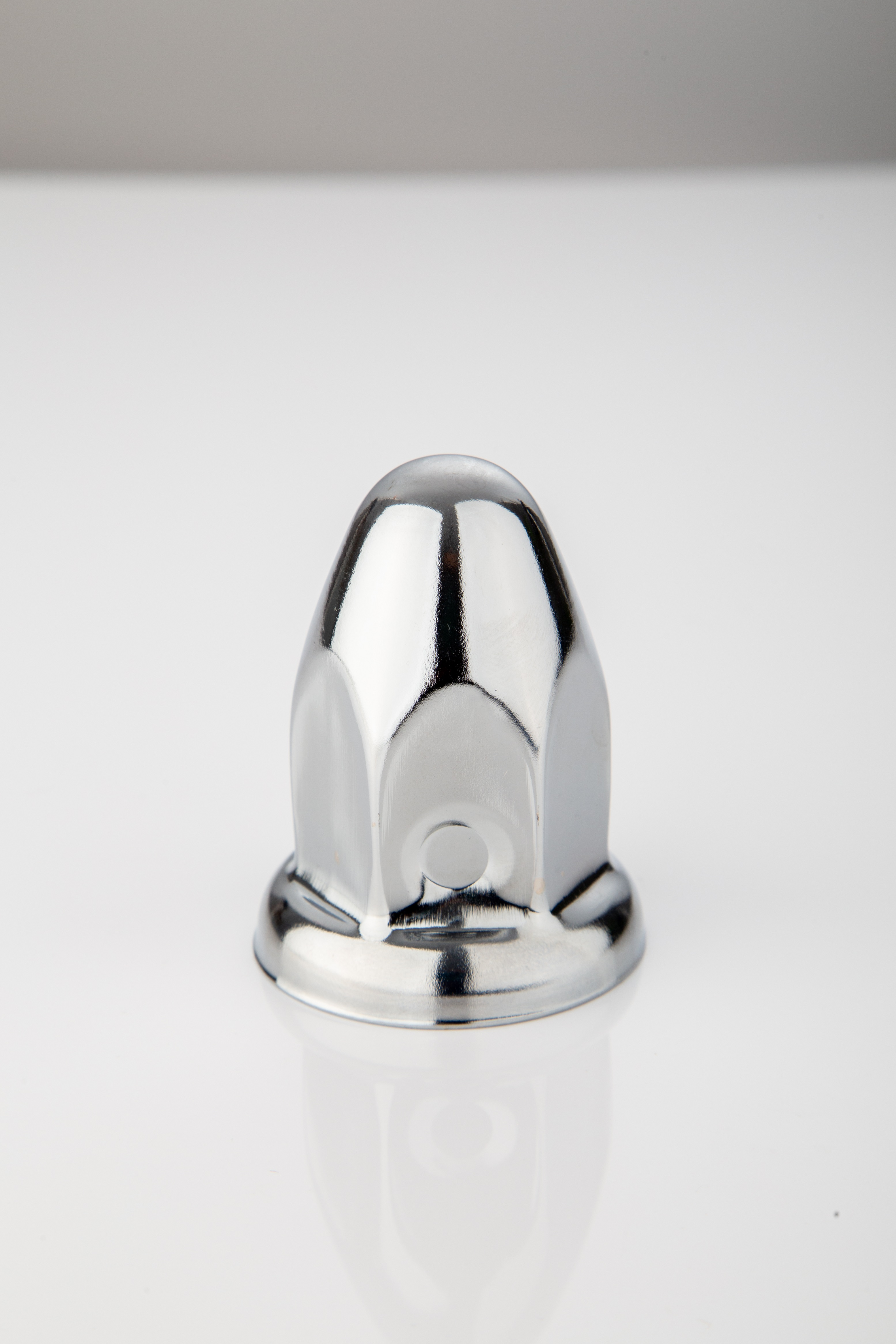 33 hex size 64mm height heavy duty truck wheel steel chrome lug nut cover