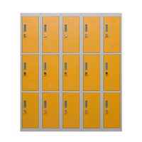 Powder Coated Steel Chang Room Lockers For Sale