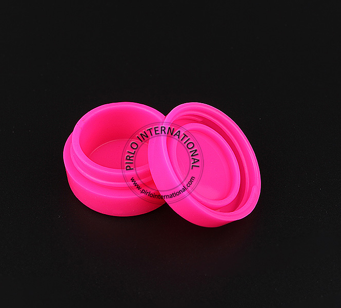 Silicone jars dab wax container, small silicone wax jar, silicone containers for wax oil