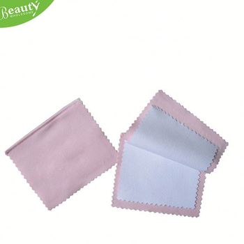 watch cleaning cloth ,H0T055 cleaning cloth with logo for telephone , double side microfiber cloth