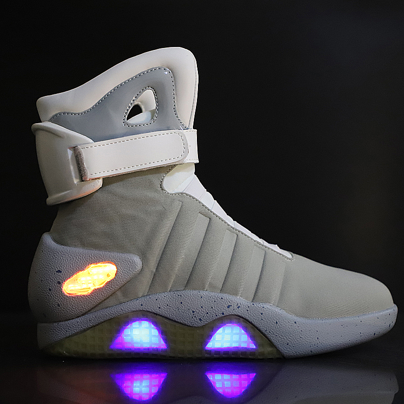 2020 Back to the future led shoes for men