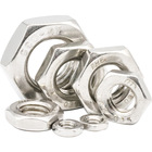 Nuts Nuts Suppliers A2-035 Stainless Steel ANSI B 18.2.2 Hex Panel Nuts Hexagon Jam Thin Nuts