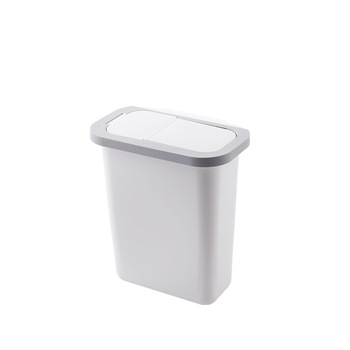 Kitchen cupboard trash can practical wall mounted plastic trash bin kitchen cabinet doors hanging waste bins