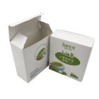 White Paper Box Small Size Thin Carton With Offset Printing