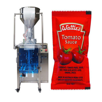 Ketchup tomato paste small sachet tomato sauce pouch packing machine