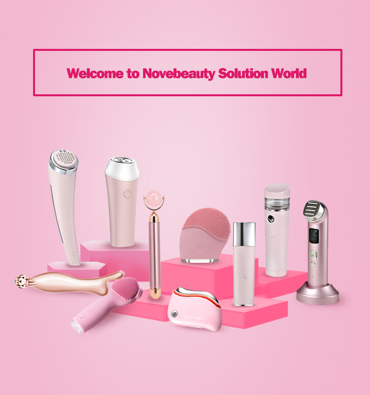 Portable Beauty Vibrator Ultrasonic Skin Scrubber Skin Peeling Beauty New Products