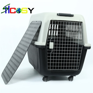 dog airport carrier luggage carrier with wheels travel carrier