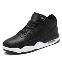 Аутентичные баскетбольные кроссовки с воздушной подушкой , мужские высокие дышащие спортивные кроссовки Jordan с нескользящей подошвой, мужс...(Китай)