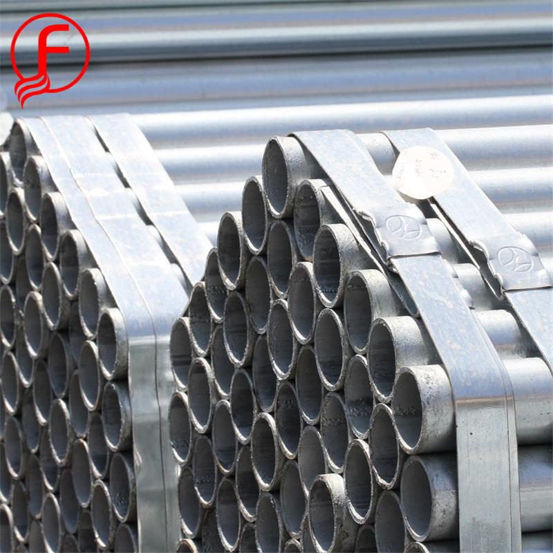 Liste de tuyaux gi! 1.5 pouce DN40 48.3mm tube d'échafaudage pré galvanisé tuyau en acier prix
