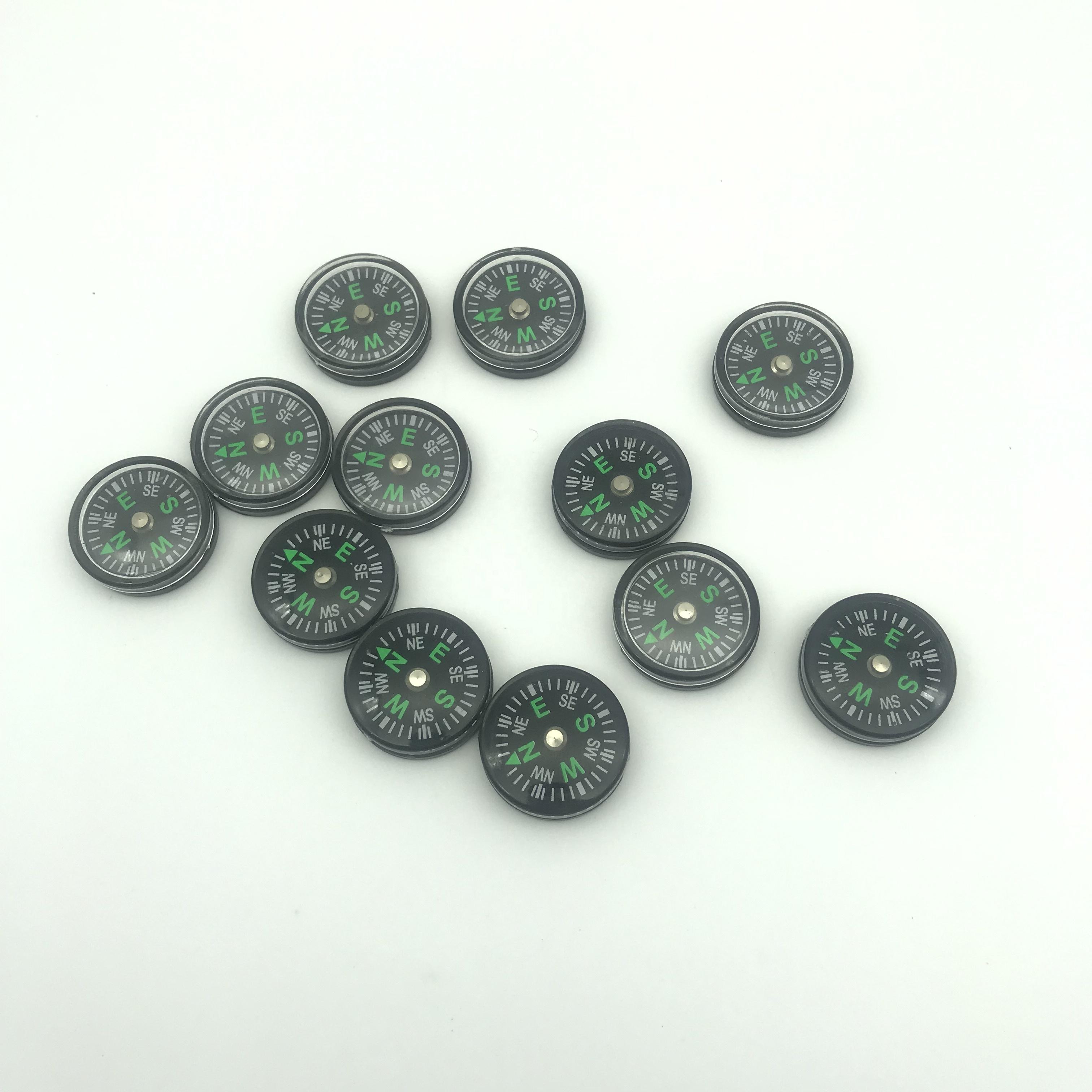 Various Pocket Mini Compass Clear Liquid filled Plastic Compass