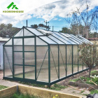 Guangzhou grow vegetables powder coated 10mm industrial gazebo window strawberry agriculture greenhouse commercial greenhouses